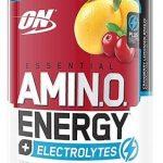Amino Energy Electrolytes By Optimum Nutrition, Cranberry Lemonade Breeze, 30 Servings   Comprar Suplemento em Promoção Site Barato e Bom