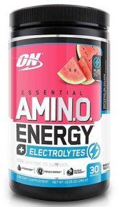 Amino Energy Electrolytes By Optimum Nutrition, Watermelon Splash, 30 Servings   Comprar Suplemento em Promoção Site Barato e Bom