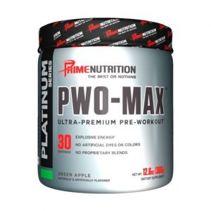 PWO Max By Prime Nutrition, Green Apple, 30 Servings   Comprar Suplemento em Promoção Site Barato e Bom
