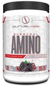 Purus Labs Everyday Amino, Natural Blackberry Cherry, 30 Servings   Comprar Suplemento em Promoção Site Barato e Bom