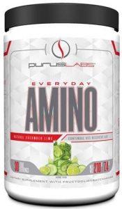 Purus Labs Everyday Amino, Natural Cucumber Lime, 30 Servings   Comprar Suplemento em Promoção Site Barato e Bom