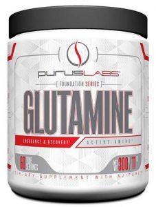 Purus Labs Glutamine, 300 Grams   Comprar Suplemento em Promoção Site Barato e Bom