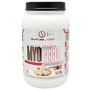 Myofeed Protein By Purus Labs, Vanilla Peanut Butter, 2.4LB   Comprar Suplemento em Promoção Site Barato e Bom