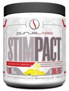 Stimpact Pre Workout By Purus Labs, Fresh Squeezed Lemonade, 30 Servings   Comprar Suplemento em Promoção Site Barato e Bom
