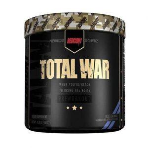 Total War Pre Workout By Redcon1, Blue Lemonade, 30 Servings   Comprar Suplemento em Promoção Site Barato e Bom