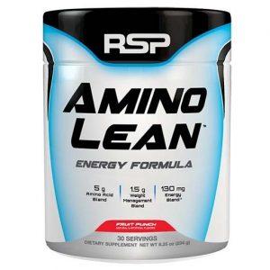 Aminolean By RSP Nutrition, Fruit Punch, 30 Servings   Comprar Suplemento em Promoção Site Barato e Bom