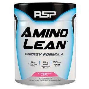 Aminolean By RSP Nutrition, Strawberry Kiwi, 30 Servings   Comprar Suplemento em Promoção Site Barato e Bom