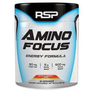 Amino Focus By RSP Nutrition, Strawberry Kiwi, 30 Servings   Comprar Suplemento em Promoção Site Barato e Bom
