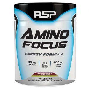 Amino Focus By RSP Nutrition, Raspberry Limeade, 30 Servings   Comprar Suplemento em Promoção Site Barato e Bom