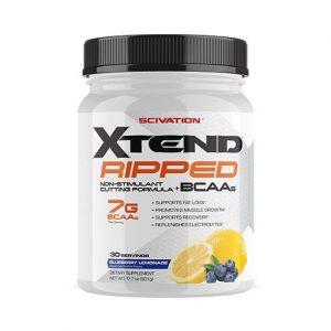 Xtend Ripped By Scivation, Blueberry Lemonade, 30 Servings   Comprar Suplemento em Promoção Site Barato e Bom