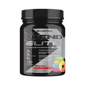 Xtend Elite By Scivation, Sour Gummy Bear, 30 Servings   Comprar Suplemento em Promoção Site Barato e Bom