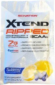 Xtend Ripped By Scivation, Blueberry Lemonade, Sample Packet   Comprar Suplemento em Promoção Site Barato e Bom