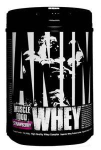 Animal Whey Protein, By Universal Nutrition, Strawberry, 1lb   Comprar Suplemento em Promoção Site Barato e Bom
