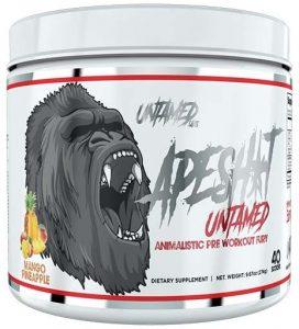 Ape Shit Pre Workout by Untamed Labs, Mango Pineapple, 40 Servings   Comprar Suplemento em Promoção Site Barato e Bom