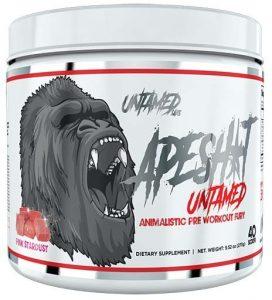Ape Shit Pre Workout by Untamed Labs, Pink Stardust, 40 Servings   Comprar Suplemento em Promoção Site Barato e Bom