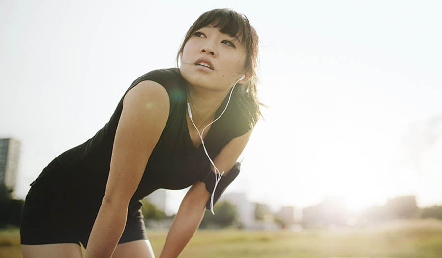 Frauen, gesunde Fette und Gesamtfitness