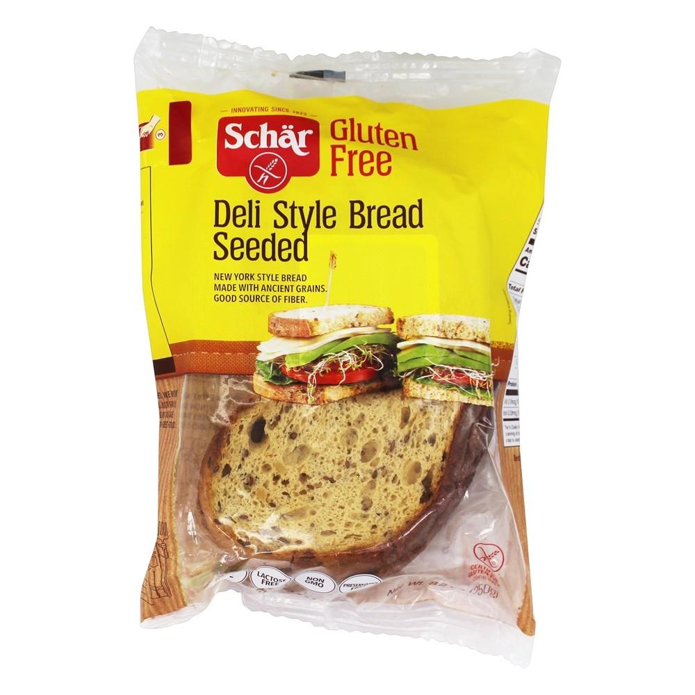 Gluten Free Deli Style Seeded Bread   8.8 oz. by Schar