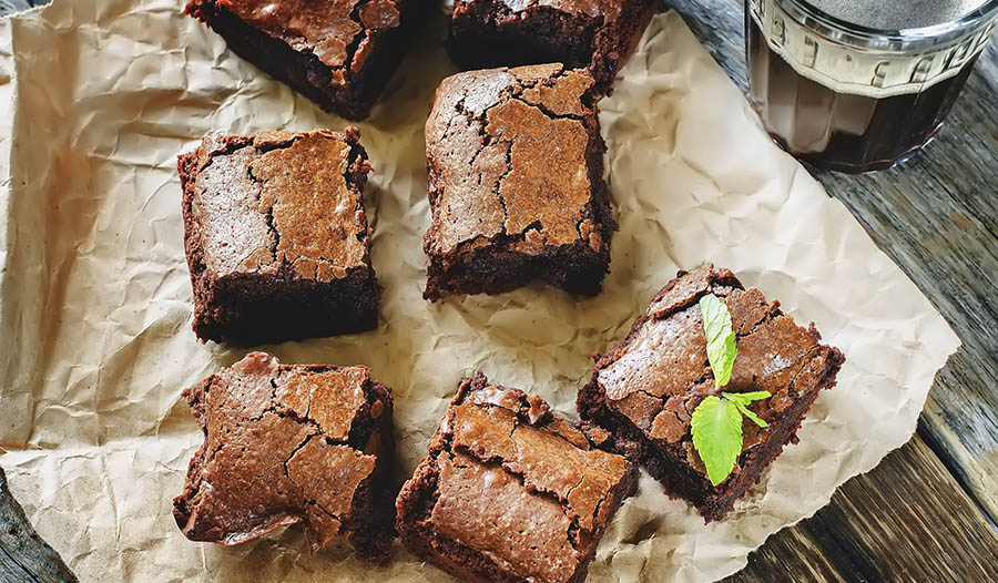 Madre Labs CocoCeps 3 Zutaten Brownies