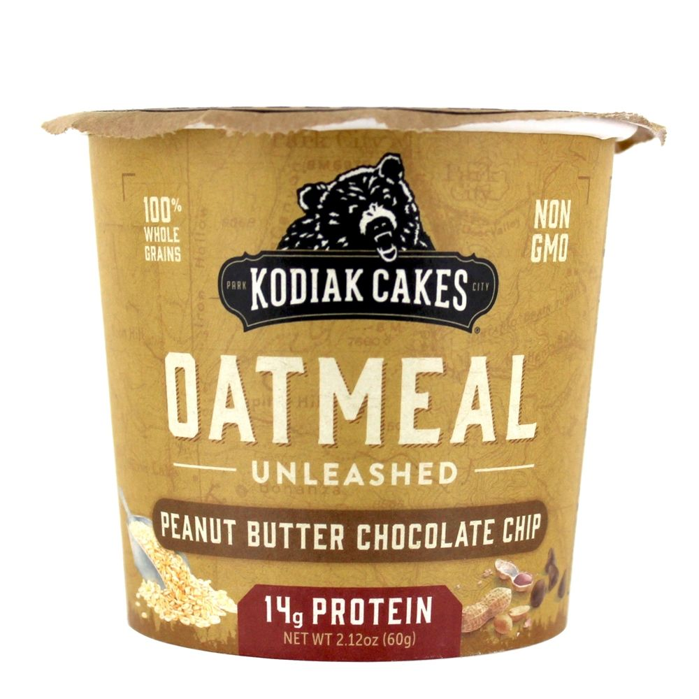 Oatmeal Unleashed Cup Peanut Butter Chocolate Chip   2.12 oz. by Kodiak Cakes
