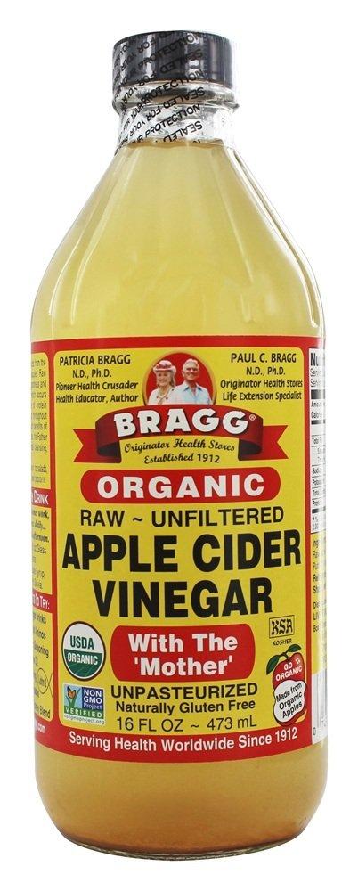 Organic Apple Cider Vinegar with Mother   16 fl. oz. by Bragg