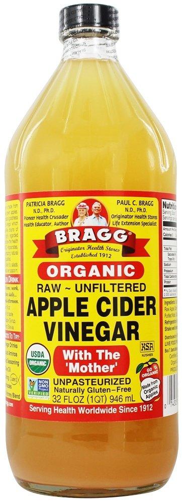 Organic Apple Cider Vinegar with Mother   32 fl. oz. by Bragg