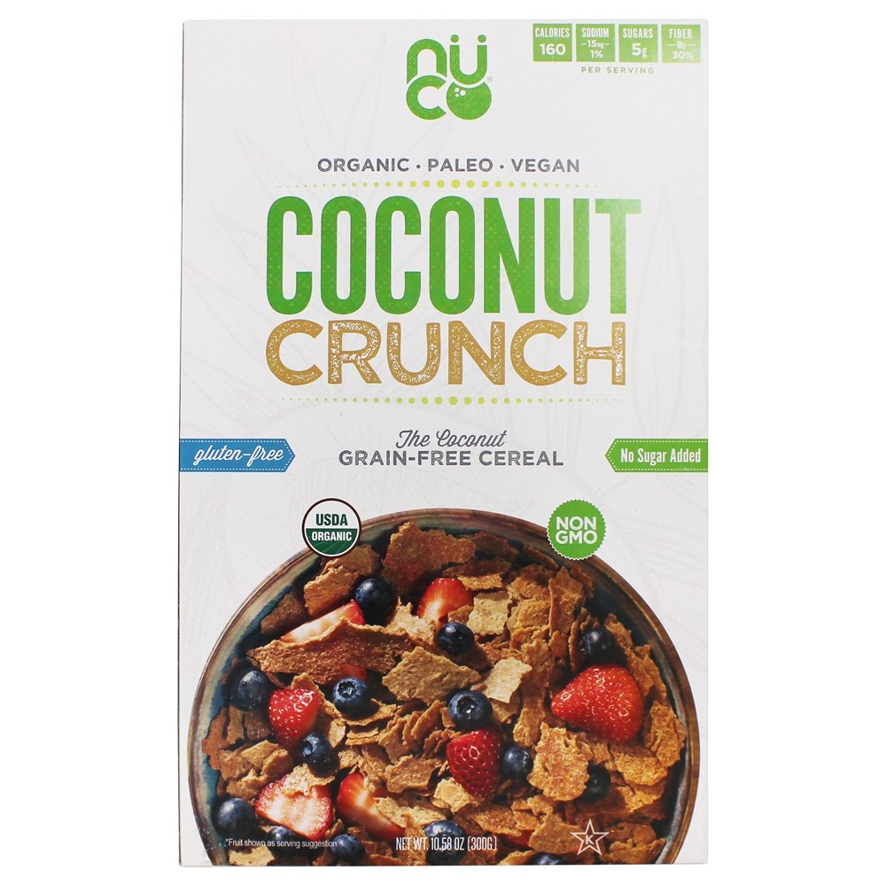 Organic Coconut Crunch Cereal   10.58 oz. by NUCO