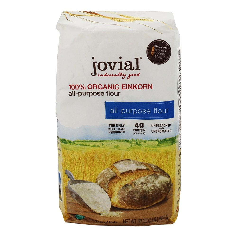 Organic Einkorn All Purpose Flour   32 oz. by Jovial Foods