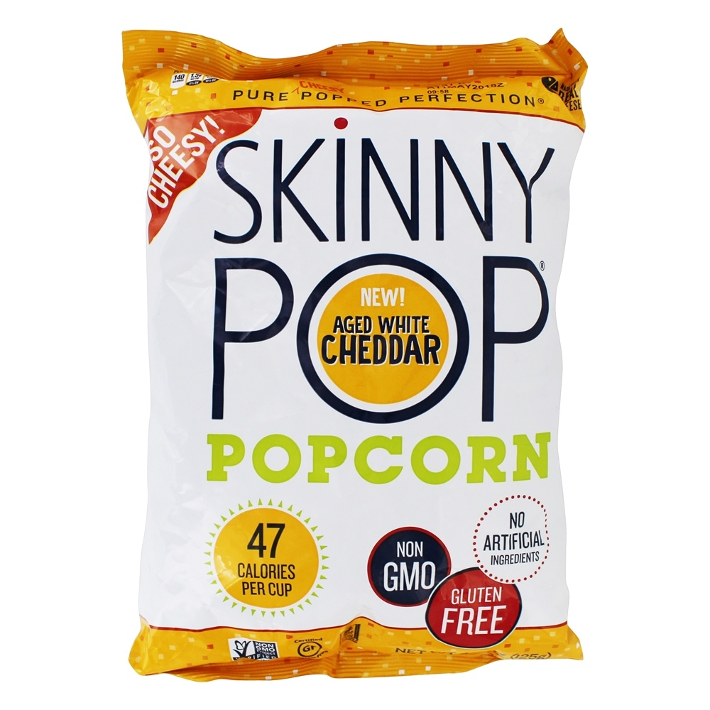 Popcorn Aged White Cheddar   4.4 oz. by Skinny Pop