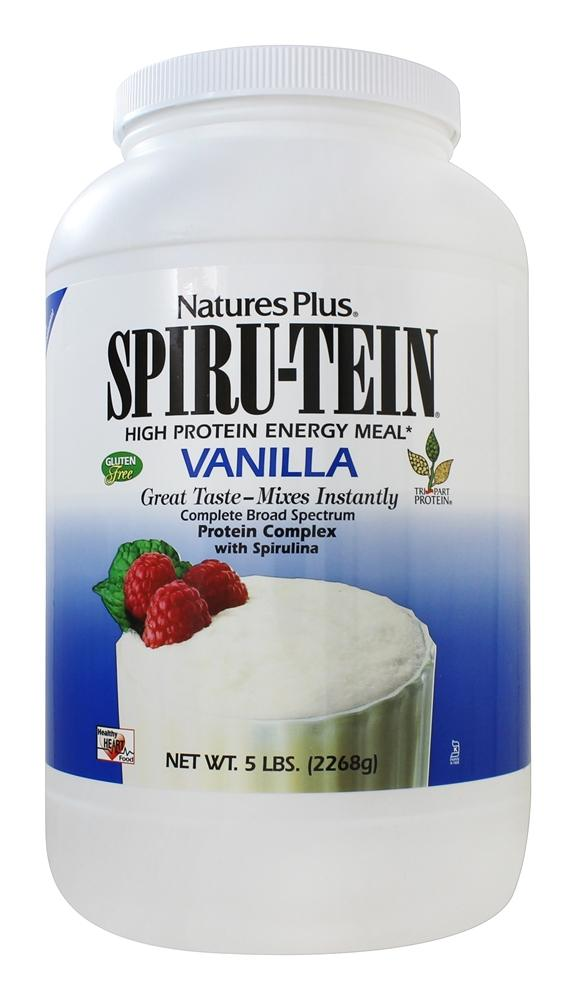 Spiru Tein High Protein Energy Meal Vanilla   5 lbs. by Natures Plus