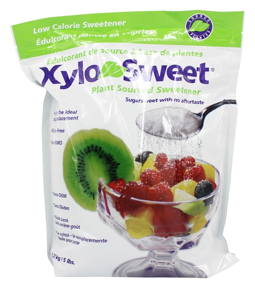 XyloSweet All Natural Low Carb Xylitol Sweetener   5 lbs. by Xlear