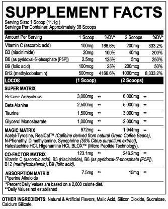 Loco Pre Workout By Myoblox, Candy Bomb, 38 Servings   Comprar Suplemento em Promoção Site Barato e Bom