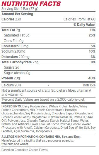 Syntha 6 Crisp Bars By BSN, Peanut Butter Crunch, Single Bar   Comprar Suplemento em Promoção Site Barato e Bom