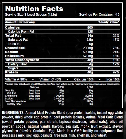 Animal Meal By Universal Nutrition, Chocolate, Sample Packet   Comprar Suplemento em Promoção Site Barato e Bom