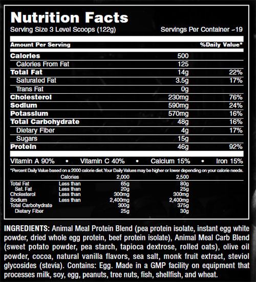 Animal Meal By Universal Nutrition, Chocolate, 5LB   Comprar Suplemento em Promoção Site Barato e Bom