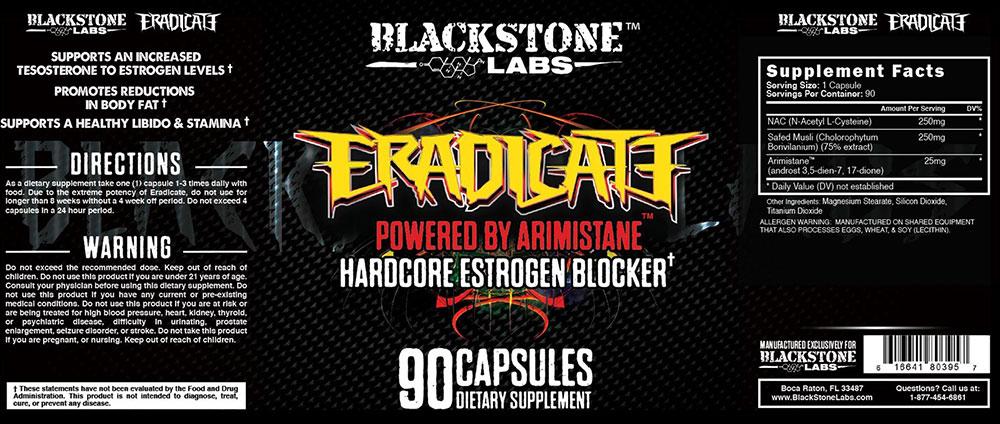 Eradicate By Blackstone Labs, 90 Caps   Comprar Suplemento em Promoção Site Barato e Bom