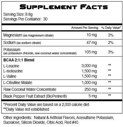 Regen BCAA By RSP Nutrition, Fruit Punch, 30 Servings   Comprar Suplemento em Promoção Site Barato e Bom