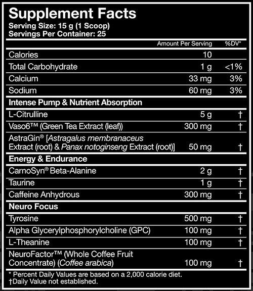 MusclePharm Wreckage Pre Workout, Fruit Punch, 25 Servings   Comprar Suplemento em Promoção Site Barato e Bom