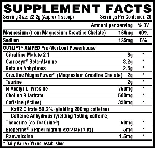 Outlift Amped By Nutrex, Fruit Candy, Sample Packet   Comprar Suplemento em Promoção Site Barato e Bom
