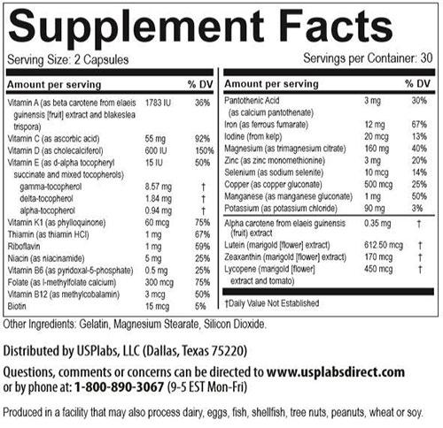 Vitamer Pro For Her, By USP Labs, 60 Caps   Comprar Suplemento em Promoção Site Barato e Bom
