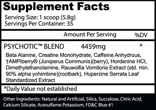 PSYCHOTIC Pre Workout by Insane Labz, Gummy Candy, 35 Servings   Comprar Suplemento em Promoção Site Barato e Bom